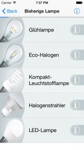 So funktioniert's LED Navi - Bisherige Lampe