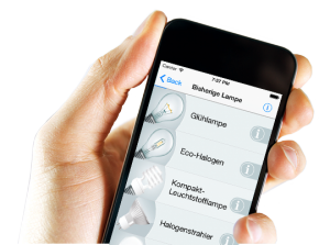 Effizienz LED Navi App